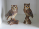 Small Owl Ornament Stood on a Branch Available in 2 Styles
